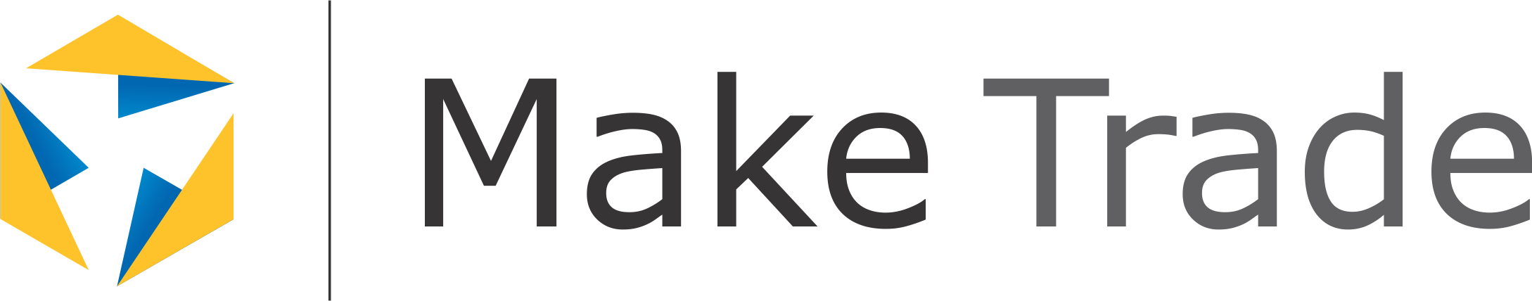 Make Trade logo CMYK Transparent
