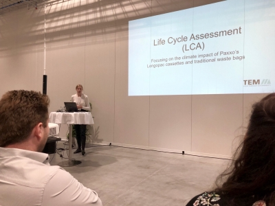 Life Cycle Assessment at Paxxo